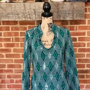 Sequined Tory Burch Tunic, 6